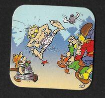 Astérix Obélix / Magnet Babybel / N°10 / 4X4 Cm Env  / D'après B.D. Goscinny Uderzo - Publicidad
