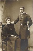 Cp Großadmiral Prince Albert Wilhelm Heinrich Von Prusse Mit Irene Von Hessen Darmstadt - Königshäuser