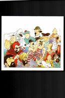 TINTIN. Carton (carte Postale?) (Illustration Somon). - Comics