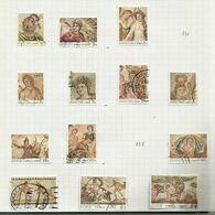 Chypre N°728 à 730, 732 à 737, 739 à 742 Cote 17.70 Euros (716 à 718 Offerts) - Usados