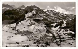Zweisimmen Mit Rinderberg, Wistätthorn U. Homberg - Fliegeraufnahme (9352) * 26. 12. 1952 - BE Bern