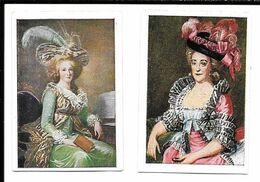 AY99 - VIGNTTES CIGARETTES JOSETTI - MARIE-ANTOINETTE REINE DE FRANCE -  WILHELMINE VON BAYREUTH - Cigarette Cards