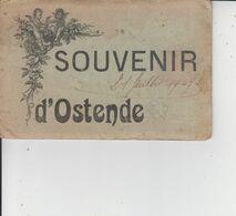 SOUVENIR D'OSTENDE  -  Dépliant De 10 Vues  - - Oostende