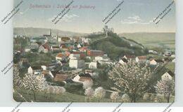 NIEDER-SCHLESIEN - BOLKENHAIN / BOLKOW, Gesamtansicht, Nebenstempel Krüppelheim Trebnitz, Druckstellen - Schlesien