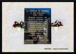 39  ARINTHOD  -  Plaque Commemorative 14 - 18 - Andere Gemeenten