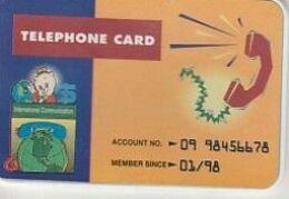 TELEPHONE CARD Verso Lblanc - Télécartes