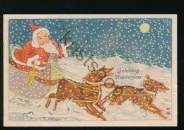 Happy New Year - Bon Année - Gelukkig Nieuwjaar  Hondenslee - Dogs - Chiens [C2.548 - New Year
