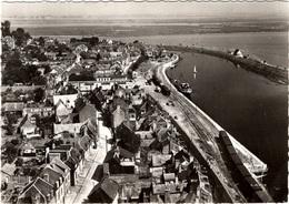 CPSM : St Valéry , Le Port  , Vue Aérienne - Saint Valery Sur Somme
