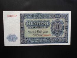 RÉPUBLIQUE DÉMOCRATIQUE ALLEMANDE * : 100 DEUTSCHE MARK   1948    CA 346**/ P 15a    SUP+ - 100 Deutsche Mark