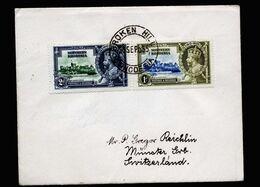 A6757) UK Northern Rhodesia Brief Broken Hill26.09.35 N. Münster / CH - Rodesia Del Norte (...-1963)