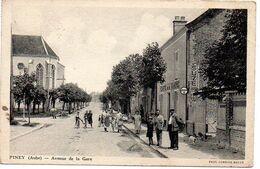 Piney : Avenue De La Gare (café De La Gare) - Autres Communes