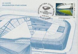 Le Havre 2012 Timbramoi Inauguration Du Stade Océane - France