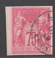 Frankreich Französische Kolonien Michel Nummer 34b Gestempelt - France (former Colonies & Protectorates)
