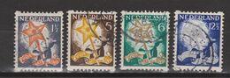 NVPH Nederland Netherlands Pays Bas Niederlande Holanda 98-101 Used Roltanding Syncopated Syncope Sincopado 1933 - Heftchen Und Rollen