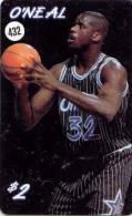 O'NEAL (432) ON PHONECAD USA *  BASKETBALL * TELECARTE ETATS UNIS - Sport