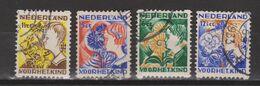 NVPH Nederland Netherlands Pays Bas Niederlande Holanda 94-97 Used Roltanding Syncopated Syncope Sincopado 1932 - Heftchen Und Rollen