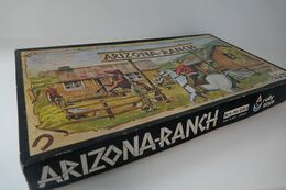 Heirline, Rolly Toys Made In West Germany , Arizona Ranch, Cowboys, Indians ,Vintage, MIB, Mint In Box - Figurini & Soldatini