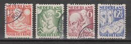 NVPH Nederland Netherlands Pays Bas Niederlande Holanda 86-89 Used Roltanding Syncopated Syncope Sincopado 1930 - Libretti