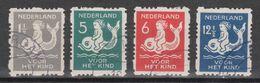 NVPH Nederland Netherlands Pays Bas Niederlande Holanda 82-85 Used Roltanding Syncopated Syncope Sincopado 1929 - Heftchen Und Rollen