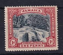 Jamaica: 1900/01   Llandovery Falls    SG32    1d  Slate-black & Red   MH - Giamaica (...-1961)