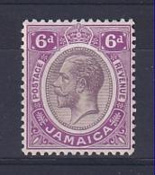 Jamaica: 1912/20   KGV    SG64a    6d    Dull Purple & Bright Mauve    MH - Giamaica (...-1961)
