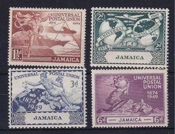 Jamaica: 1949   U.P.U.   MH - Giamaica (...-1961)