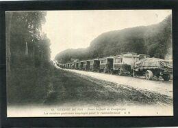 CPA - GUERRE DE 1914 - Dans La Forêt De Compiègne - Les Autobus Parisiens Employés Pour Le Ravitaillement - Guerra 1914-18