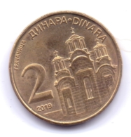 SERBIA 2019: 2 Dinara, KM 55 - Serbia