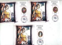 Carte Cachet Ambazac Bicentenaire Revolution - Cachets Commémoratifs