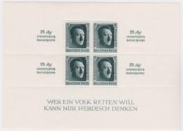 Deutsches Reich   .    Michel   .   Block  11      .      **   .    Postfrisch    .   /   .   MNH - Blokken