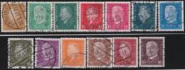 Deutsches Reich   .    Michel   .   410/422        .      O      .       Gebraucht  .   /   .  Cancelled - Oblitérés