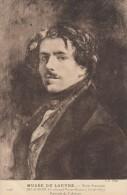 CPA - Delacroix - Portrait De L'auteur - Artistes