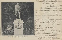 CPA - St Claude - Statue De Voltaire - Saint Claude