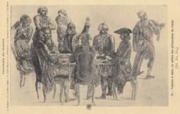 CPA - Voltaire - Voltaire à Table Au Milieu Des Philosophes Du Temps - Ecrivains