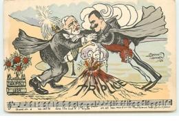 Raoul Thomen - Napoli 1904 - Triplice - Loubet Et Victor Emmanuel III - Satirical
