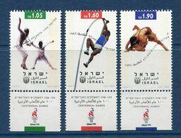 Israël - YT N° 1332 à 1334 - Neuf Sans Charnière - 1996 - Israel
