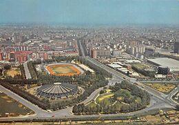 """01757 """"TORINO - PARCO E CAMPO RUFFINI - PALAZZO DELLO SPORT - DALL'AEREO""""   CART NON SPED - Stadiums & Sporting Infrastructures"""