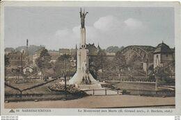 57 - SARREGUEMINES - MONUMENT AUX MORTS - GIRAUD ARCHITECTE - Sarreguemines