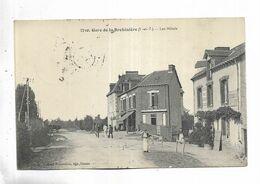 35 - Gare De La Brohinière ( I.-et-V. ) - Les Hôtels. Animée - Frankreich