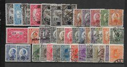 YOUGOSLAVIE - ANNEES 1922/1926 COMPLETES - YVERT 143 à 181 OBLITERES (QUELQUES *) - Gebruikt