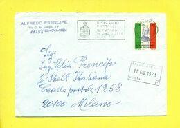 STORIA POSTALE ITALIA - ISOLATI SU BUSTA - 1971-80: Marcofilia