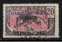 OUBANGUI       N°  YVERT :      50   OBLITERE       ( OB 8 / 42 ) - Used Stamps