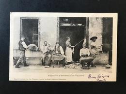 Cpa Fabricants D'espadrilles Du Vallespir - Altri Comuni