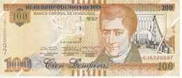 BILLETE DE HONDURAS DE 100 LEMPIRAS AÑO 2014 (BANKNOTE) - Honduras