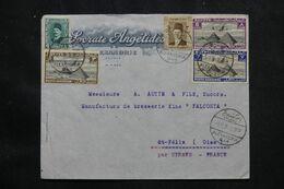 EGYPTE - Enveloppe Commerciale De Alexandrie  Pour La France En 1939  - L 69443 - Briefe U. Dokumente