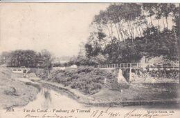 BELGIQUE ATH Vue Du Canal ,faubourg De Tournai - Ath