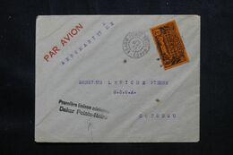 A.E.F. - Enveloppe De Pointe Noire Pour Cotonou Par 1er Vol Dakar / Pointe Noire En 1937 - L 69454 - Lettres & Documents