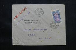 A.E.F. - Enveloppe De Pointe Noire Pour Cotonou Par 1er Vol Dakar / Pointe Noire En 1937 - L 69455 - Lettres & Documents