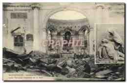CPA Badonviller Interieur De L&#39Eglise Apres L&#39invasion Bavaroise Du 12 Aout Militaria - Unclassified