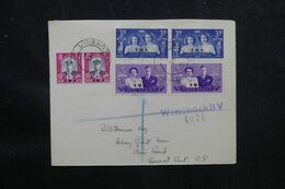 AFRIQUE DU SUD OUEST - Enveloppe En Recommandé De Windhoek En 1947 Pour Somerset West - L 69464 - Südwestafrika (1923-1990)